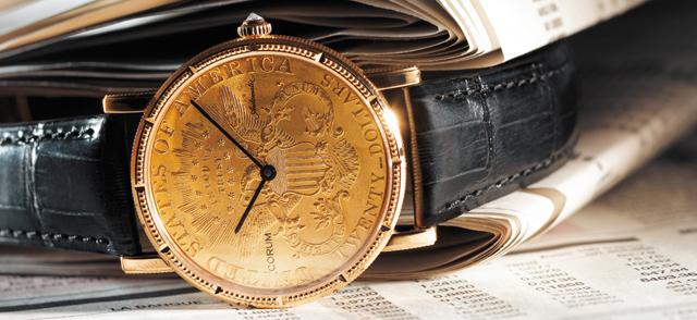 Coin Watch de Corum