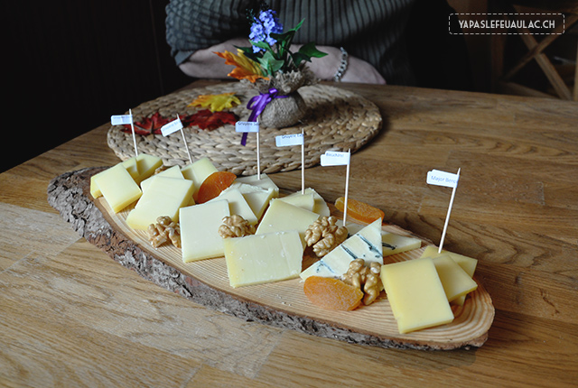 Dégustation fromages suisses - Neuchatel