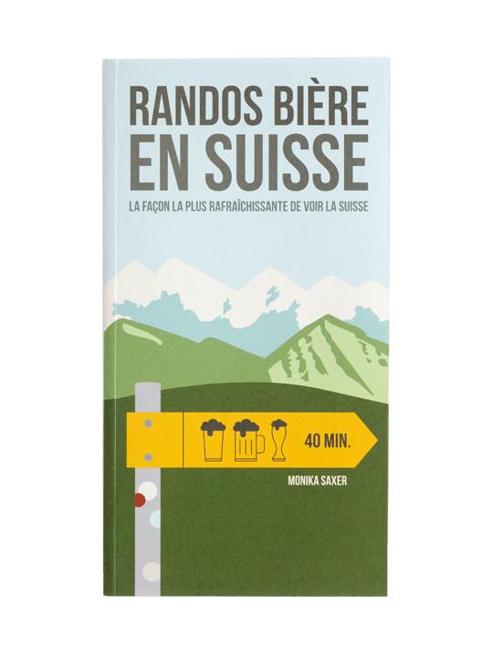 Guide des rando bières en Suisse (Helvetiq)