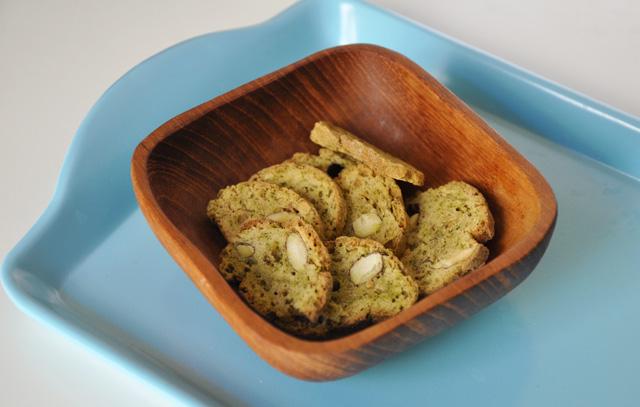 Biscuits au pistou Les croquets de Provence