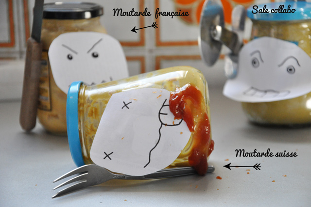 Moutarde suisse vs moutarde française
