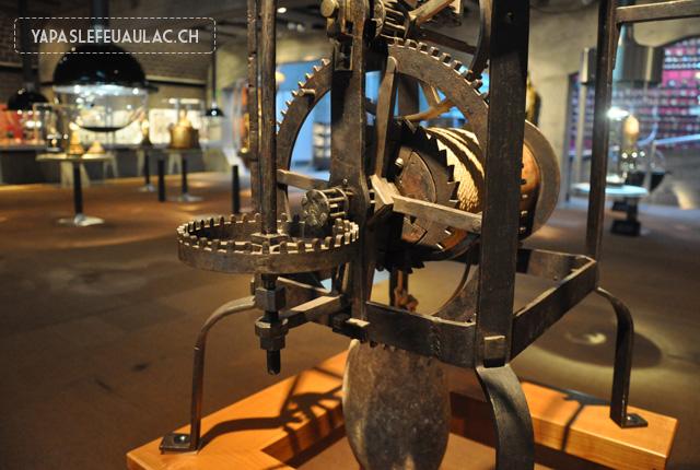 Visite du Musée de l'horlogerie de la Chaux de Fonds