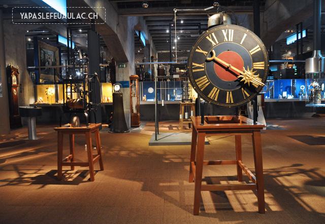 Au Musée de l'horlogerie de la Chaux de Fonds
