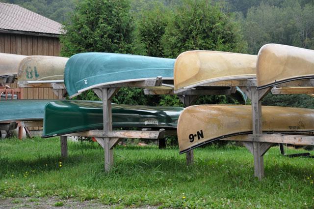 Canoes au Québec