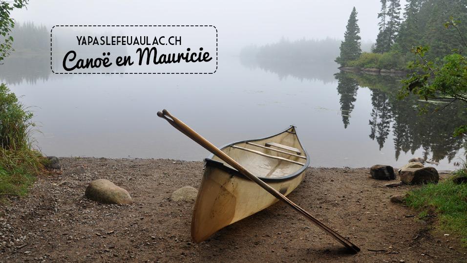 Canot en Mauricie - Québec