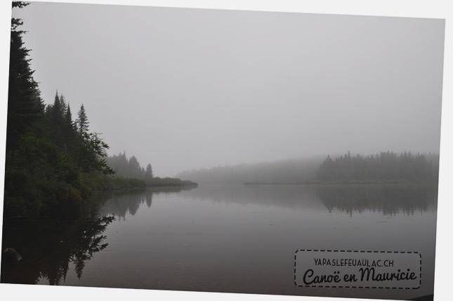 Canoe en Mauricie - Québec