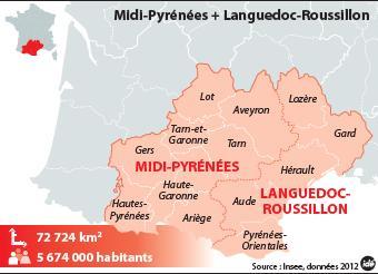 carte LRMP nouvelle région