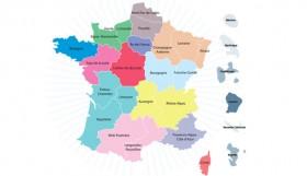 nouvelle carte des régions de France