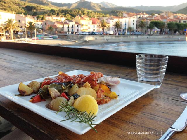 Adresse de restaurant à Collioure: La Voile du Neptune