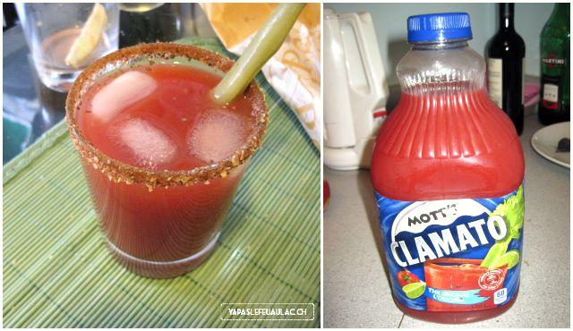 Clamato, la boisson au jus de tomate et à la palourde
