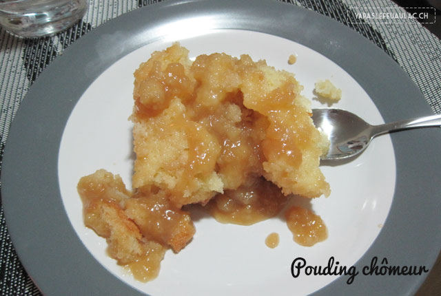 Dessert québécois: le pouding chomeur