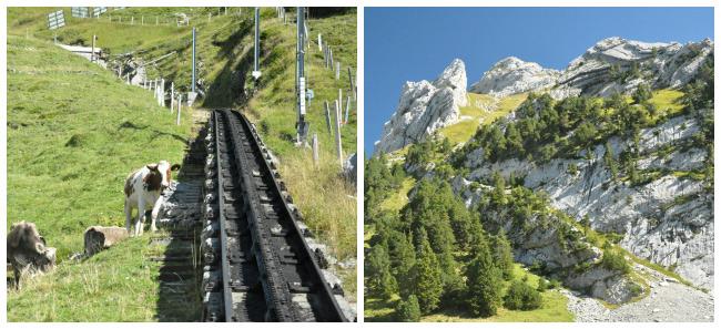 Voyage en Suisse: Le Mont Pilatus