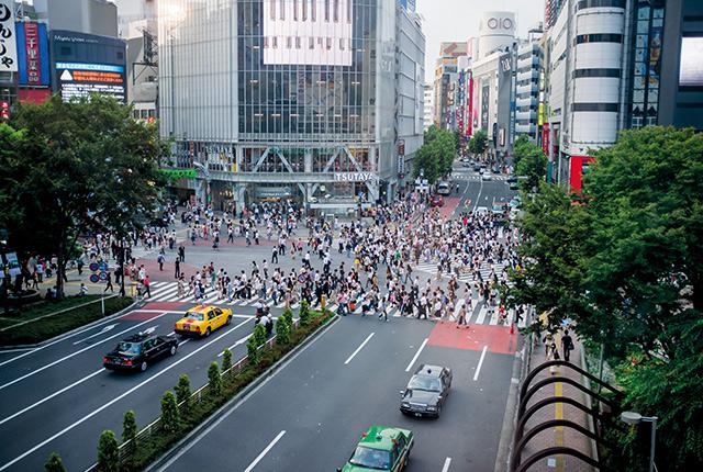 Shibuya et son impressionnant carrefour!