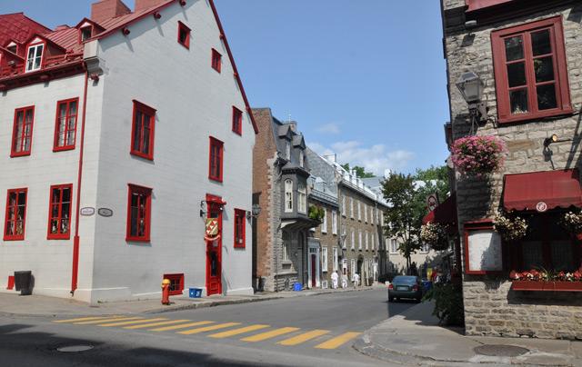 Les rues de Québec, capitale de la province