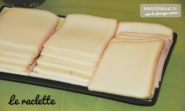 Le raclette, un fromage valaisan