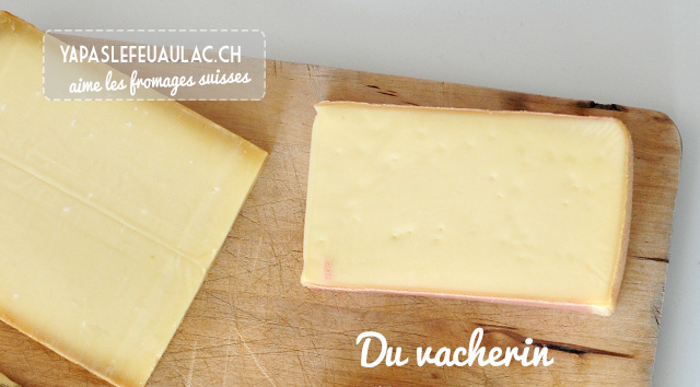 Vacherin: fromages suisses