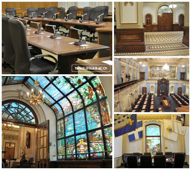 La visite du Parlement du Québec