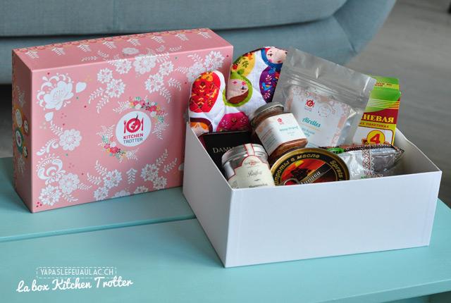 Avis sur Kitchen Trotter: la box russe