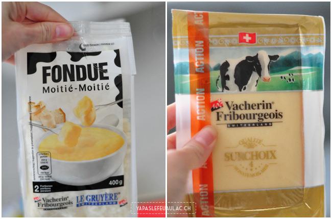 Spécialités suisses: les fromages