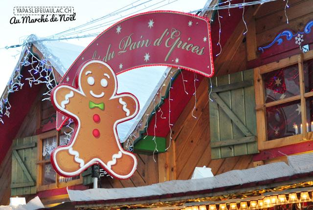 Un stand du marché de Noël de Nancy
