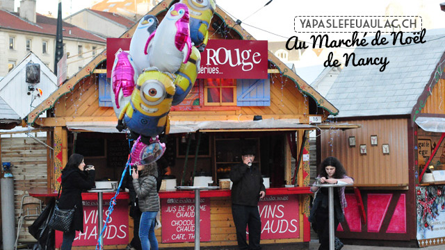 Au marché de Noël à Nancy
