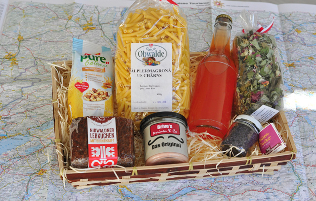 L'Helvetibox - une box de produits suisses