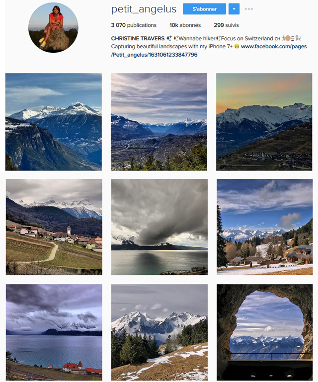 Petit Angelus - Instagrams de la Suisses