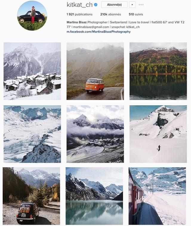 Instagrams suisses à suivre - Kitkat