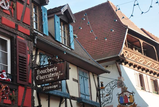 Ribeauvillé, village d'Alsace