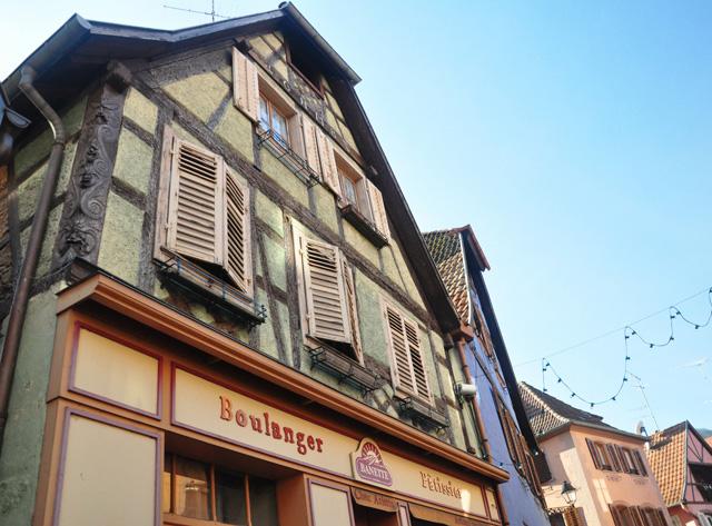 Maison à colmbage à Ribeauvillé