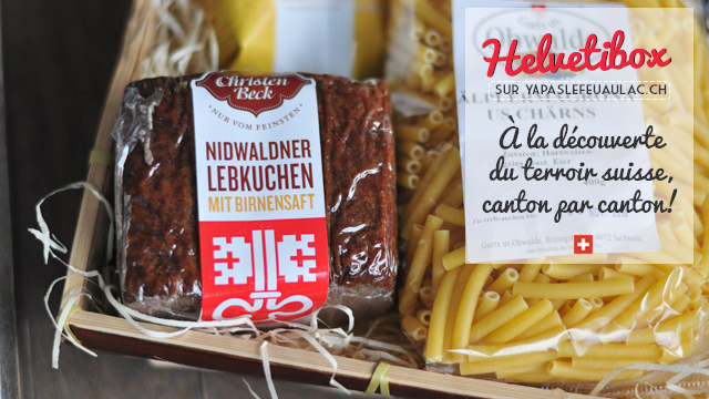Helvetibox, une box suisse de produits gourmands!