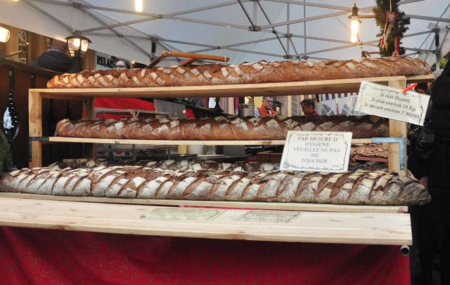 Un pain de 2 mètres!