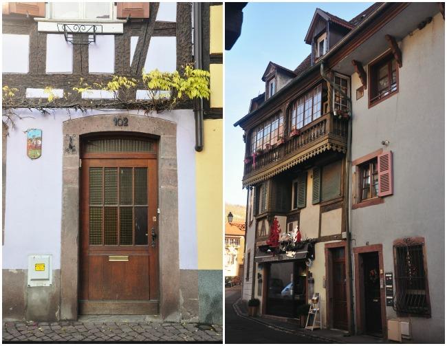 À Ribeauvillé, en Alsace