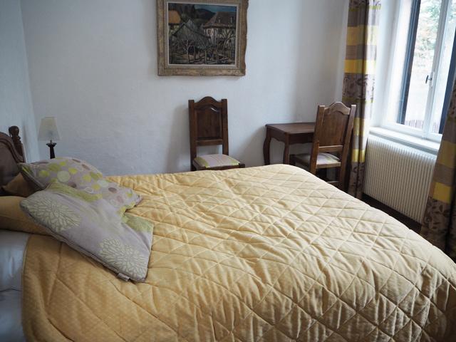Hôtel spa Saint-Barnabé: chambre intemporelle