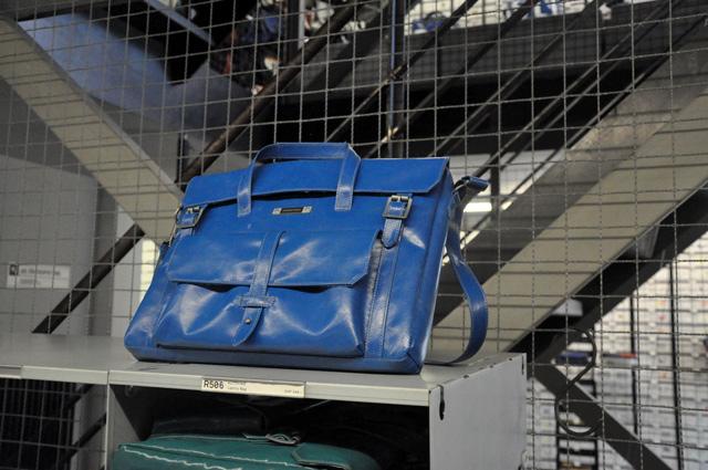Des sacs suisses en bâche de camion
