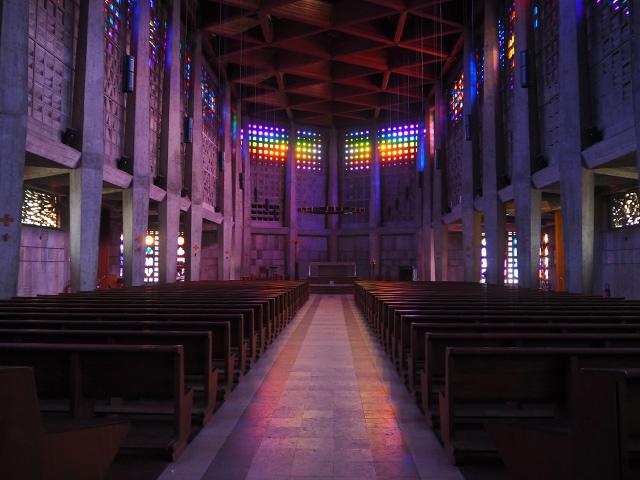 L''église Saint-Rémy à Baccarat