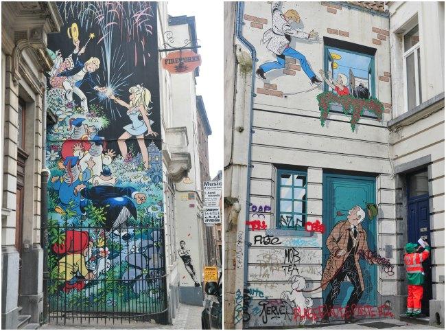 Fresques-BD-Bruxelles