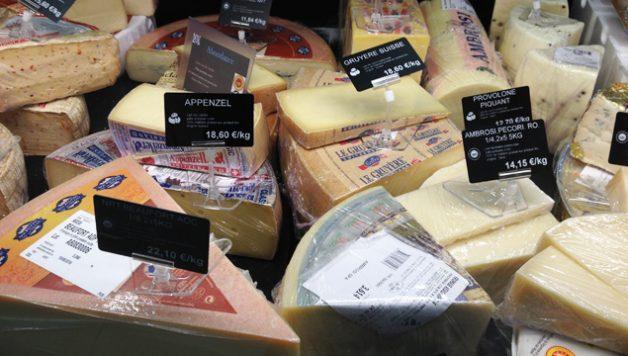 Prix des fromages suisses en France