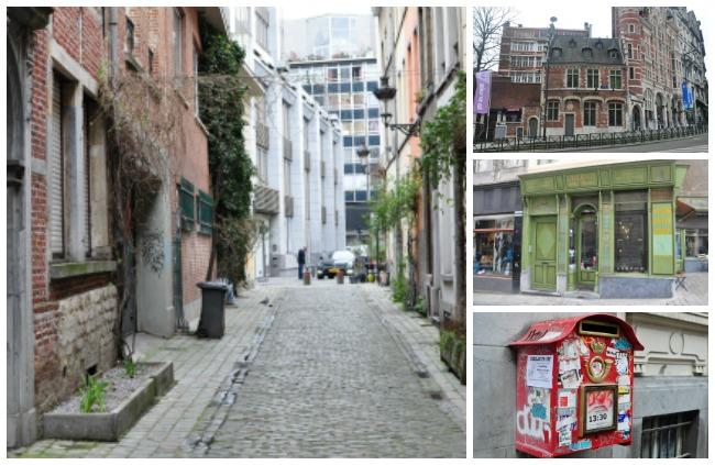 rues de bruxelles-belgique
