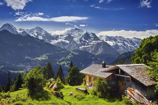 Symbole suisse: les montagnes!