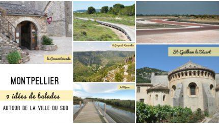 9 idées de balades autour de Montpellier (Hérault, Languedoc-Roussillon) Escapades au Sud de la France sur le blog Yapaslefeuaulac