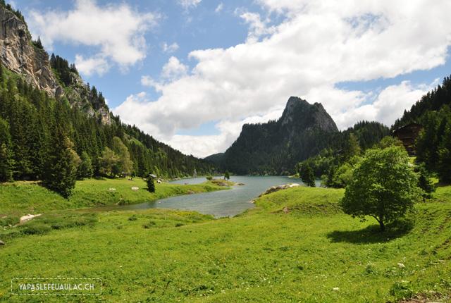 Le Lac Tanay en Suisse