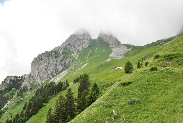 Le Grammont -sommet suisse