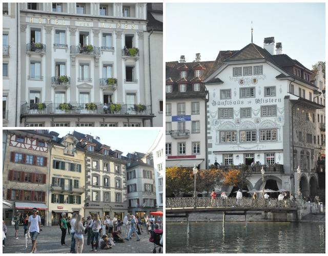 Centre historique de Lucerne en Suisse