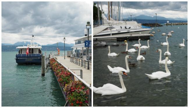 Ouchy - port de Lausanne