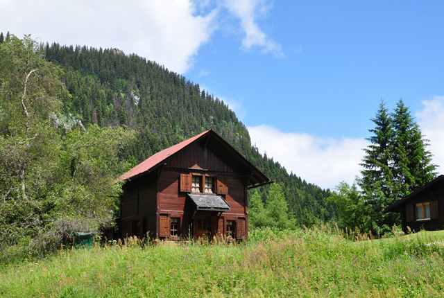 Chalet suisse à Tanay en Valais