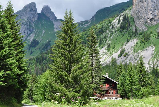 chalet-suisse-àChalet suisse à Tanay dans le canton du Valais-tanay-en-valais