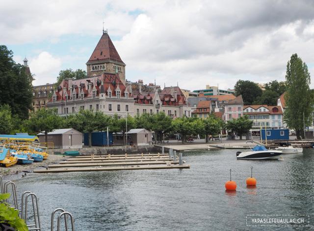 A voir à Lausanne: le pot d'Ouchy et ses rives pour se balader