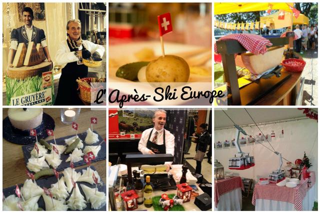 L'après-ski europe, un traiteur de fondue suisse et de raclette!