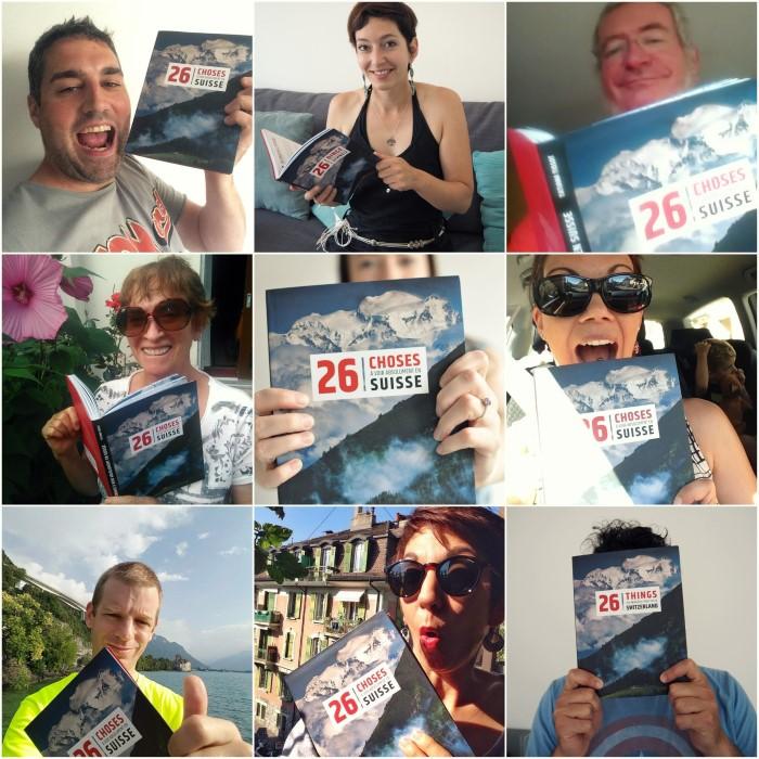 #26choses selfies livre tourisme suisse